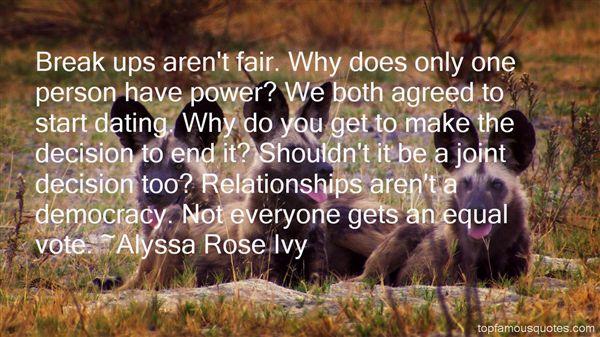 Alyssa Rose Ivy Quotes