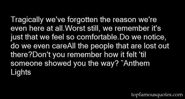 Anthem Lights Quotes