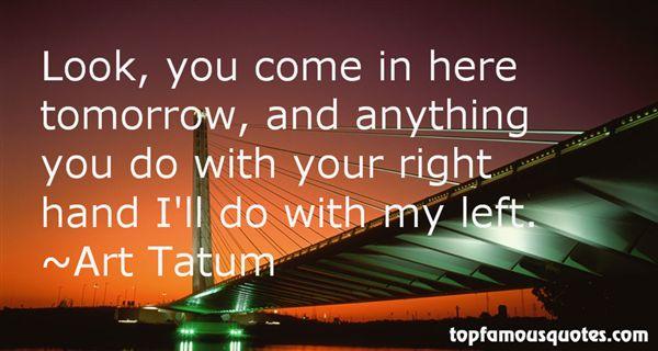 Art Tatum Quotes