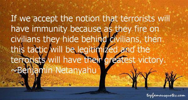 Benjamin Netanyahu Quotes