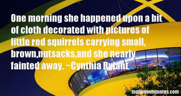 Cynthia Rylant Quotes