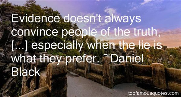 Daniel Black Quotes