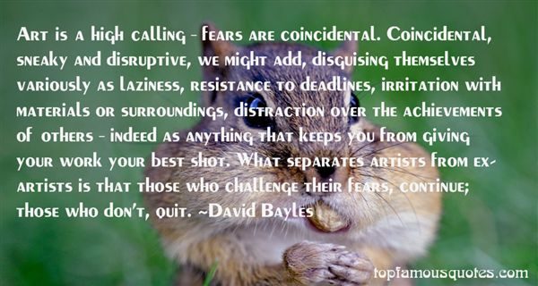 David Bayles Quotes