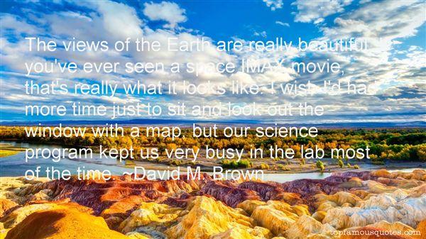 David M. Brown Quotes