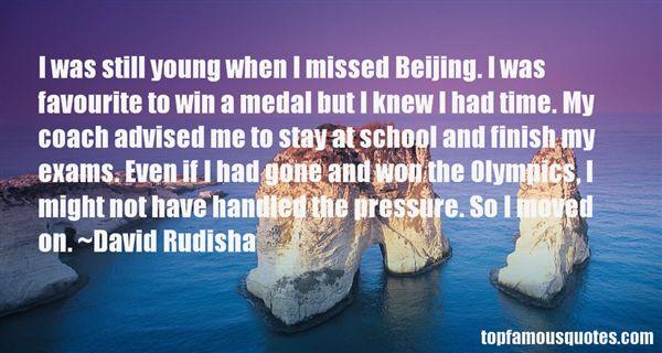 David Rudisha Quotes
