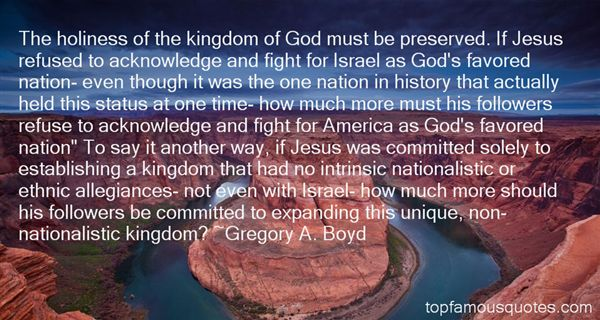 Gregory A. Boyd Quotes