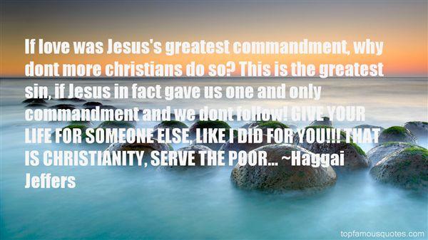 Haggai Jeffers Quotes