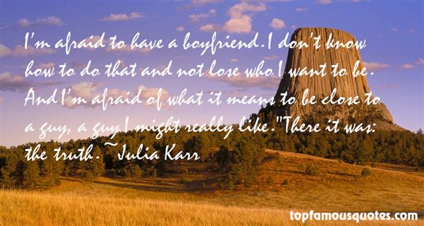 Julia Karr Quotes