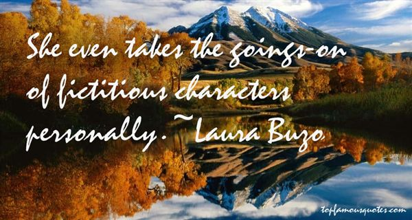 Laura Buzo Quotes