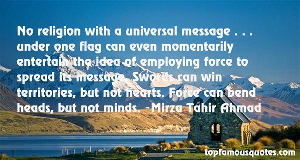 Mirza Tahir Ahmad Quotes