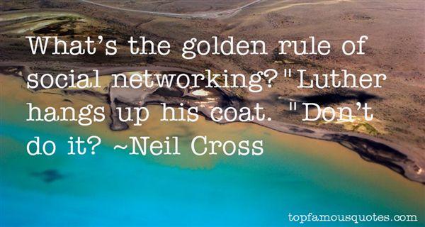 Neil Cross Quotes