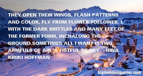Nina Kiriki Hoffman Quotes