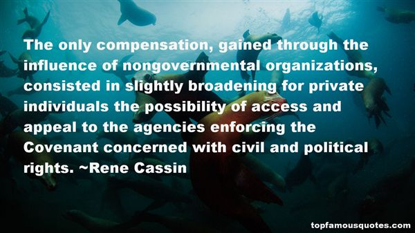 Rene Cassin Quotes