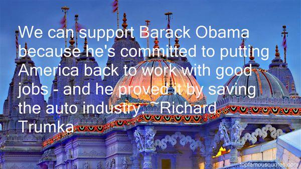 Richard Trumka Quotes