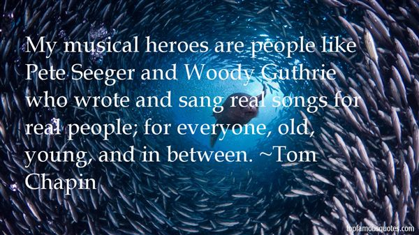 Tom Chapin Quotes