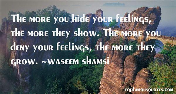 Waseem Shamsi Quotes