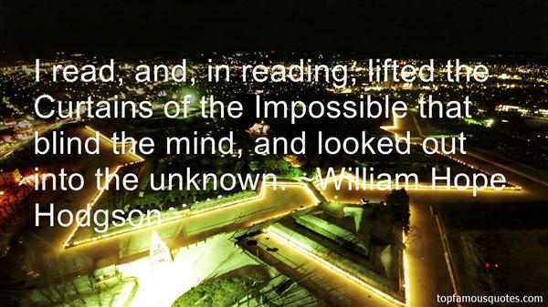 William Hope Hodgson Quotes
