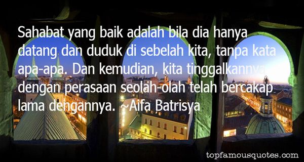 Aifa Batrisya Quotes