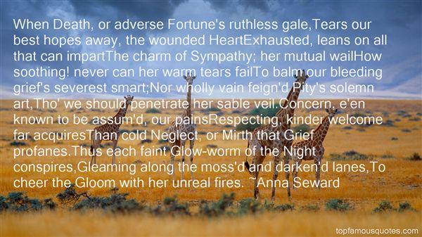 Anna Seward Quotes