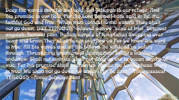 Annie Johnson Flint Quotes