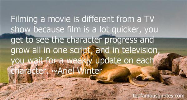 Ariel Winter Quotes