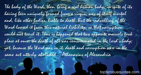 Athanasius Of Alexandria Quotes