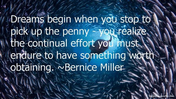 Bernice Miller Quotes
