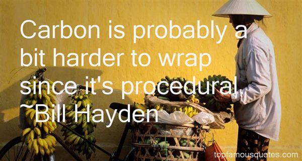 Bill Hayden Quotes