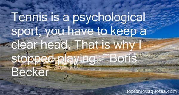 Boris Becker Quotes