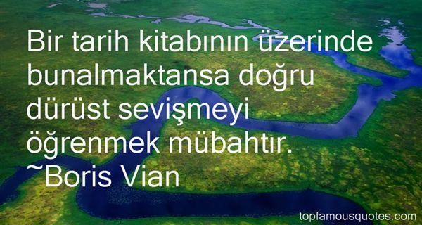 Boris Vian Quotes