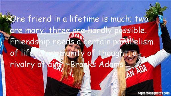 Brooks Adams Quotes