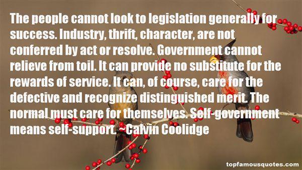Calvin Coolidge Quotes
