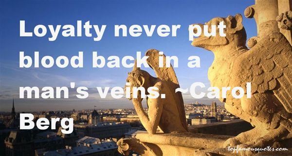 Carol Berg Quotes