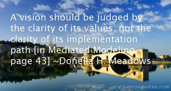 Donella H. Meadows Quotes