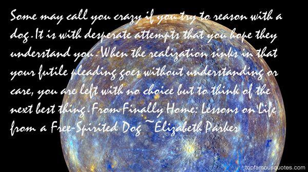 Elizabeth Parker Quotes