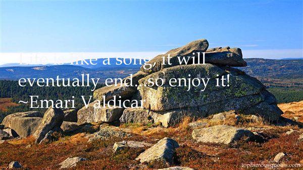 Emari Valdicar Quotes