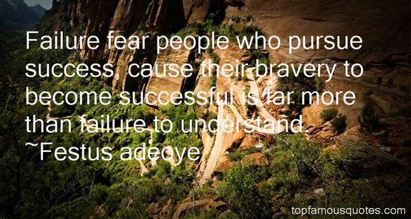 Festus Adeoye Quotes