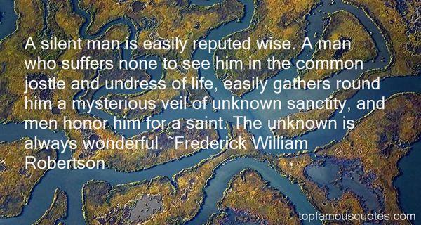 Frederick William Robertson Quotes