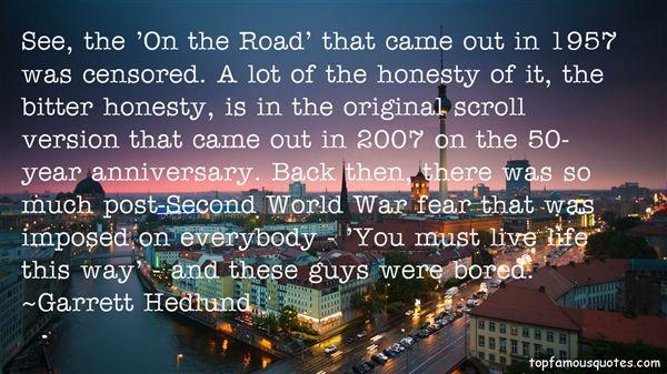 Garrett Hedlund Quotes