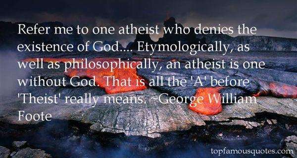 George William Foote Quotes