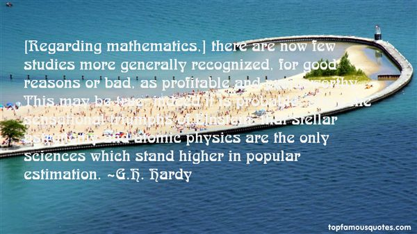 G.H. Hardy Quotes