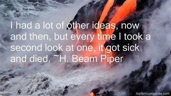 H. Beam Piper Quotes