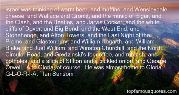 Ian Sansom Quotes