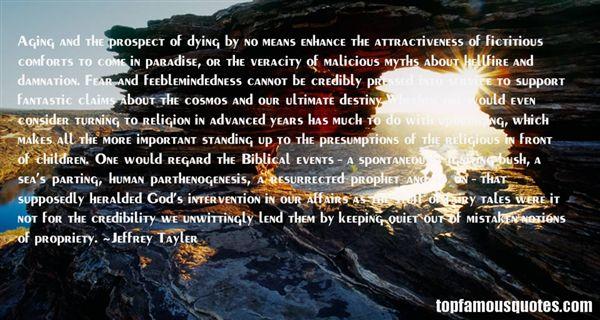 Jeffrey Tayler Quotes