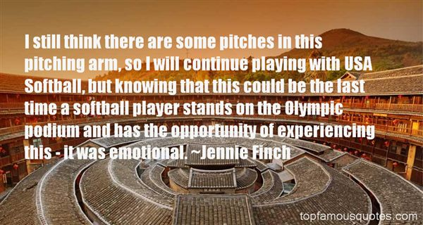 By Jennie Finch Softball Quotes. QuotesGram