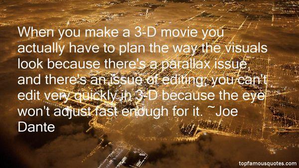 Joe Dante Quotes