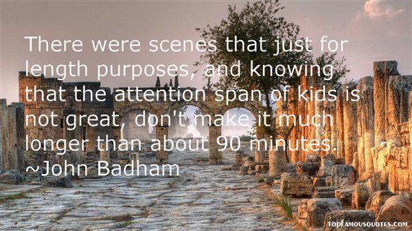 John Badham Quotes