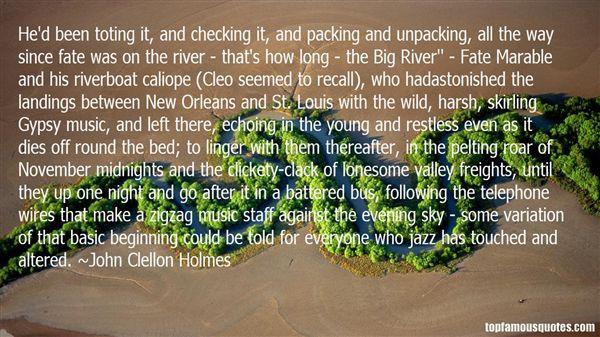 John Clellon Holmes Quotes