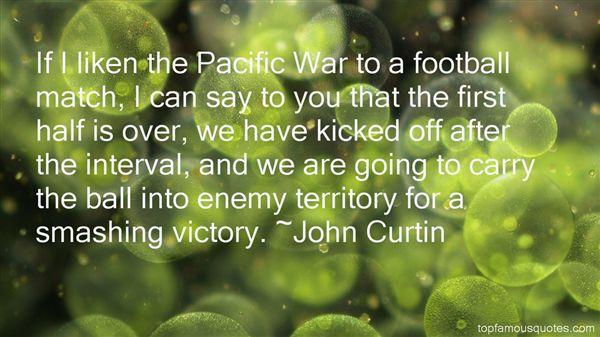 John Curtin Quotes