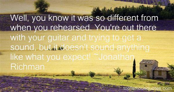 Jonathan Richman Quotes